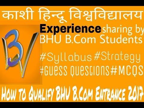 B com  BHU Entrance Prepration