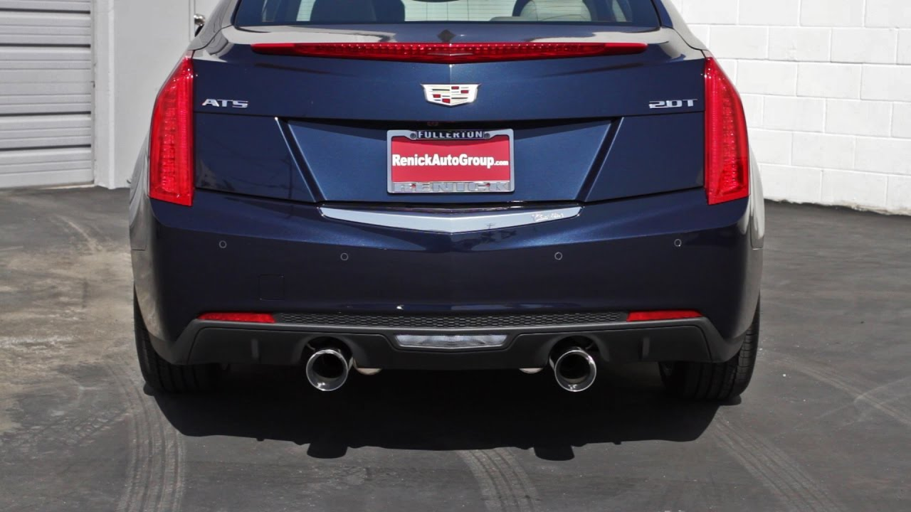 Cadillac ats 20 ecotech exhaust system by renick performance youtube cadillac ats 20 ecotech exhaust system by renick performance publicscrutiny Choice Image