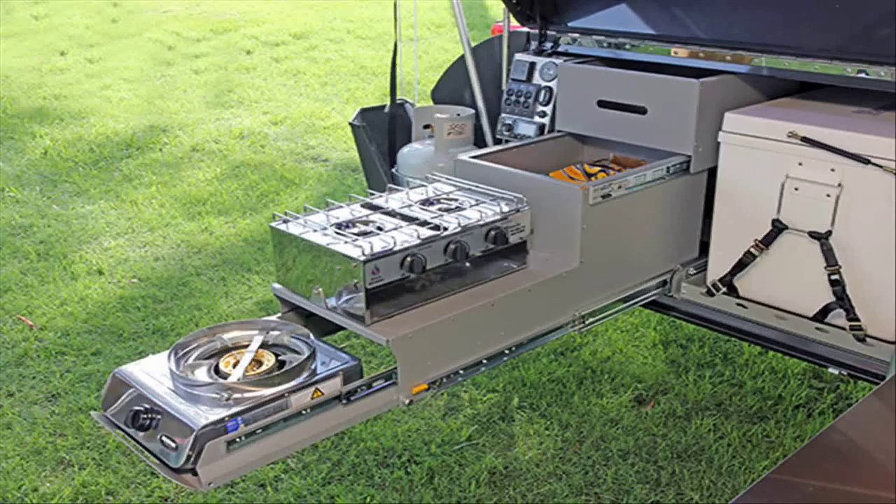 Camper Trailer Kitchen Designs Youtube