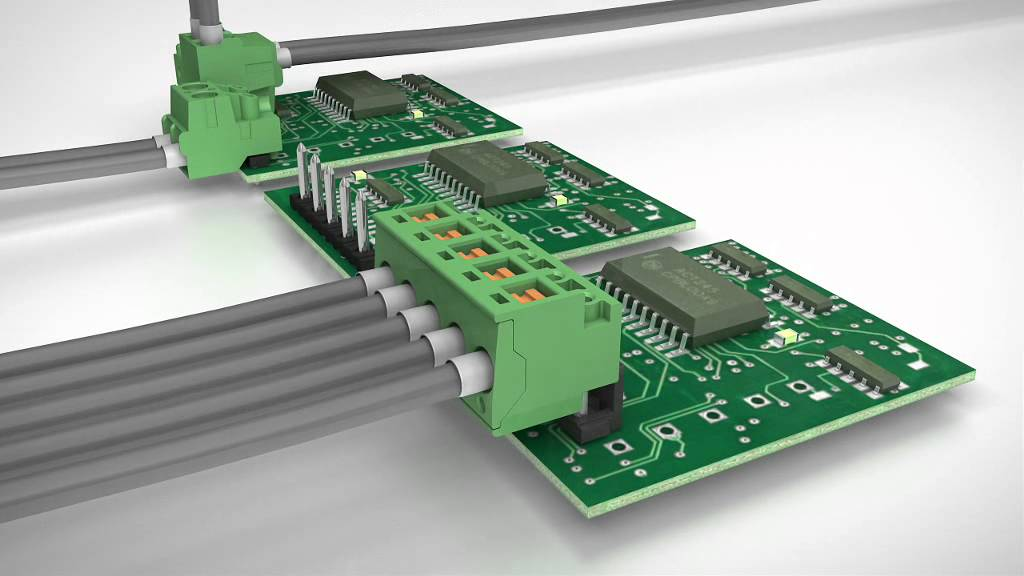 Amp Wiring Harness Pcb Connectors For Building Automation Phoenix Contact