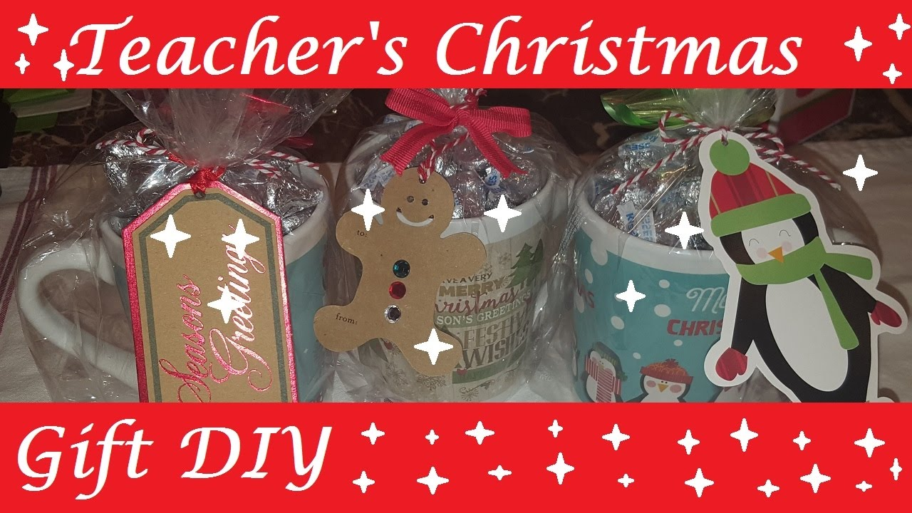 Teachers Christmas Gift DIY (Christmas Collab ) - YouTube
