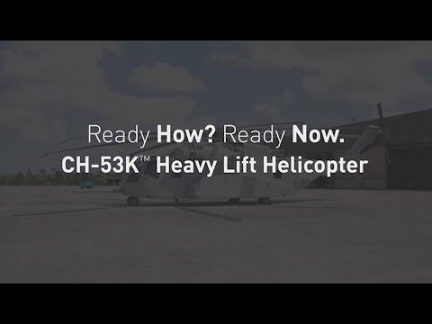 Ready How, Ready Now: Designing the CH-53K with the Maintainer in Mind