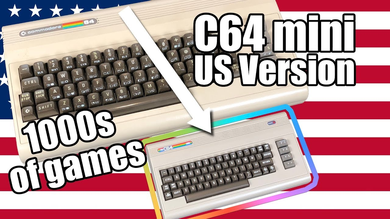 C64 Mini got 100x better! A longtime fans perspective - Load your own games!