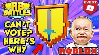 Why Some People Can't Access RB Battles Site to Vote and Get the Shield of Wisdom (Roblox)