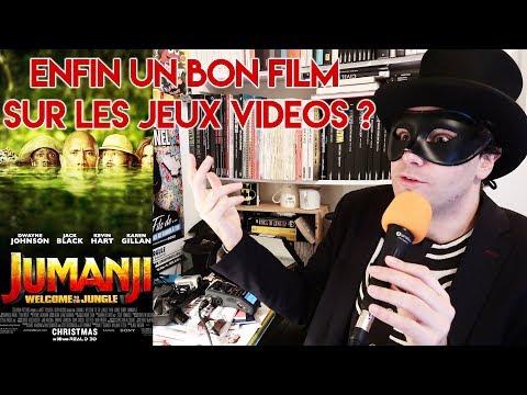 JUMANJI : BIENVENUE DANS LA JUNGLE - CRITIQUE À CHAUD ! streaming vf