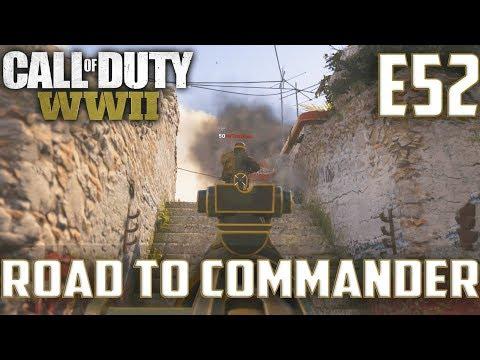 Call Of Duty World War 2(RTC)PS4 Ep.52-DOM On Gibraltar(Brandi Grease Gun,STG44 Gameplay)