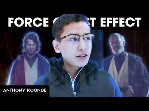 How To Turn Into A FORCE GHOST! Premiere + Filmora Tutorial
