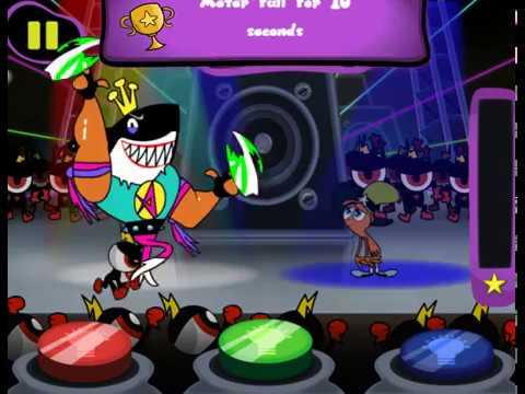 Мультик игра С приветом по планетам: Танцы с лордом (Dance Dance Lord Hater)