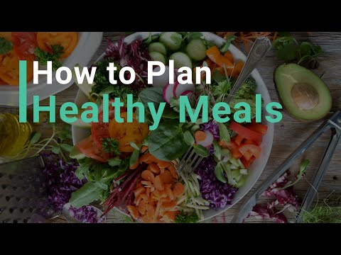 How to Plan Healthy Meals: Get Your Free Build-a-Meal Cheat Sheet!