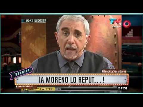¡A Moreno lo reput...!