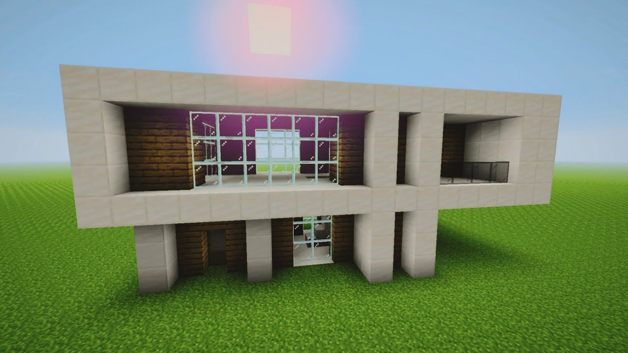 Comment faire une belle maison moderne dans minecraft : Evo_FoX