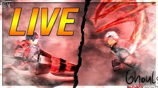 [CODE EXCLUSIF] GHOUL BLOODY NIGHTS GAMEPLAY ET CODES ROBLOX LIVE STREAM!