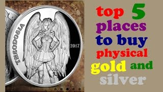 Top 5 places to buy physical gold & silver - Most affordable precious metals sellers, SLV & GLD ETFs