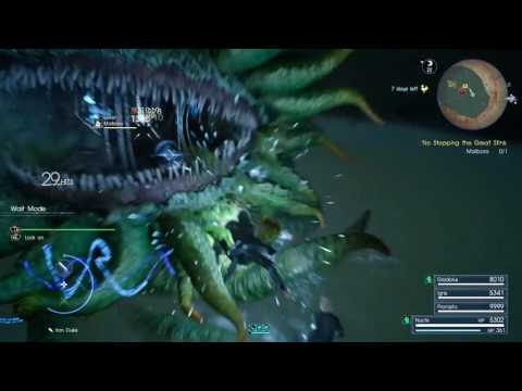 FFXV Hunt: No Stopping the Great Stink