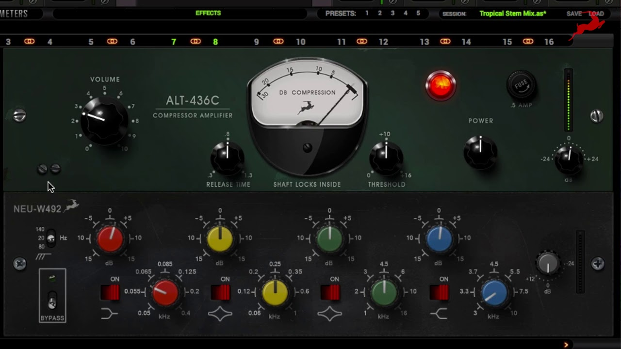 Mixing the EDM Kick Drum with the Antelope Audio AFX
