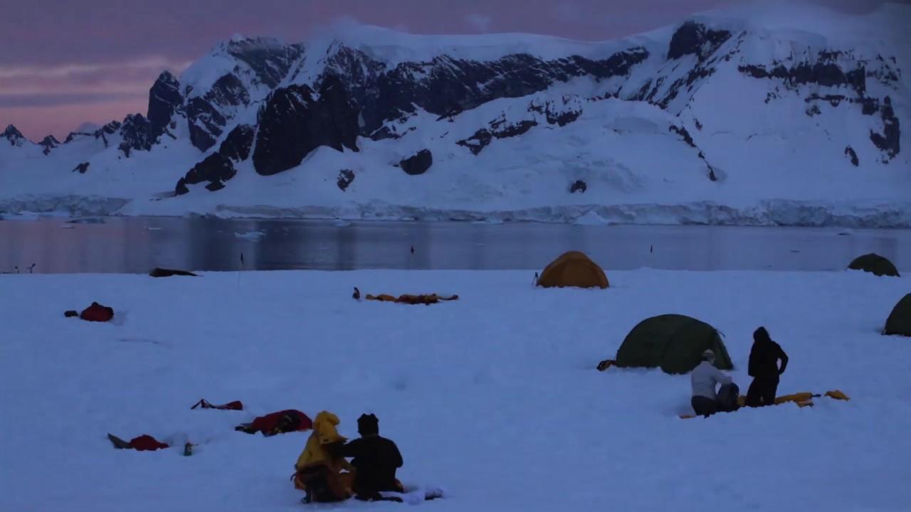 【動画】南極でのキャンプ体験/南極クルーズ