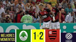 FLAMENGO 2 x 1 BOAVISTA - Melhores Momentos - Final da Taça Guanabara (22/02/2020)