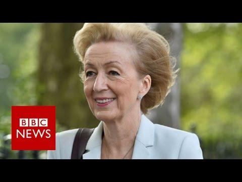 Andrea Leadsom 'motherhood' comments spark row - BBC News
