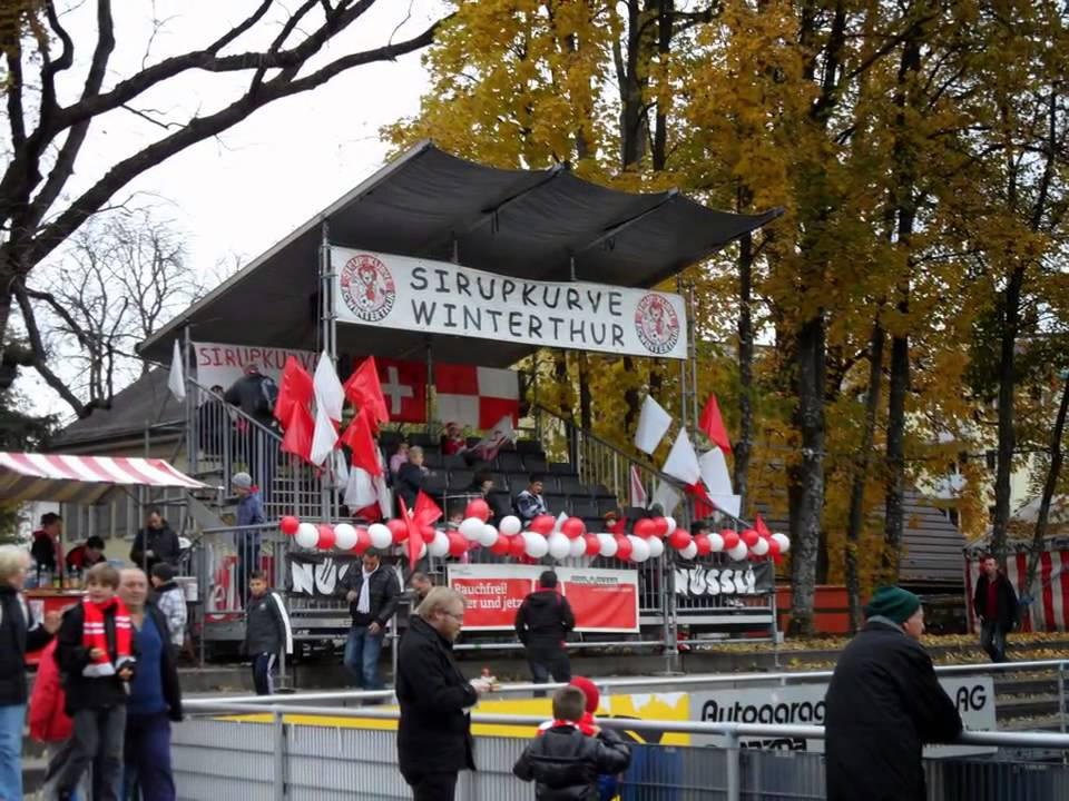 Stadion Schützenwiese Fc Winterthur Kanton Zürich Schweiz Suisse Youtube