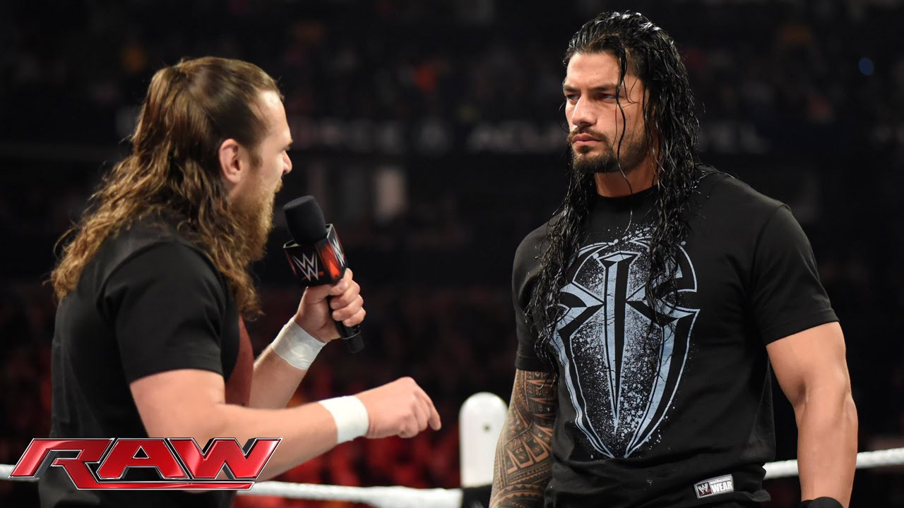 Download Daniel Bryan confronts Roman Reigns: Raw, February 23, 2015
