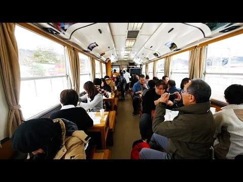 INCREDIBLE JAPANESE TRAIN TOUR RESTAURANT - Akita, Japan Travel Guide