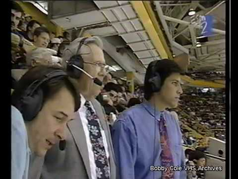 Bruins vs. Ottawa 5/1/1995 w/guest announcer Bob Wilson