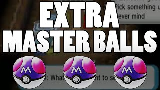 Extra Master Ball Guide - How to get MORE MASTER BALLS in Pokemon Omega Ruby and Alpha Sapphire!