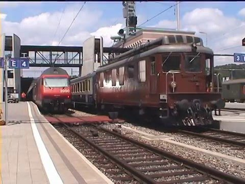 018 The locos Ae 4/4 and Ae 8/8 in the summer of 2000 - REOS full DVD
