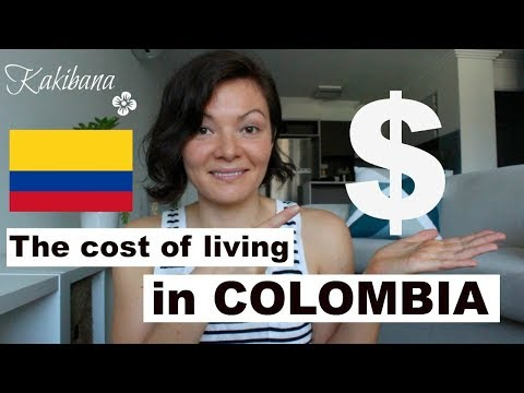 Cost of living in COLOMBIA | KAKIBANA