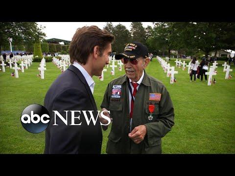 World War II veteran shares his secret to living life