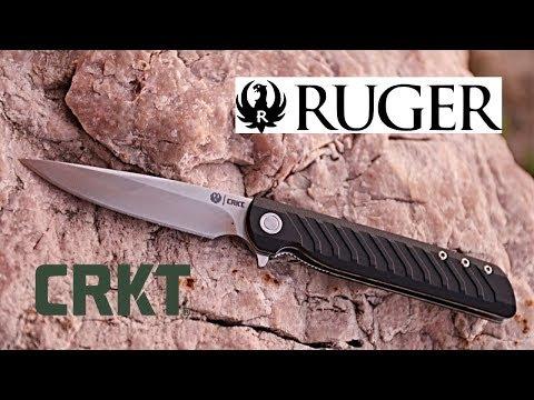 The Ruger CRKT LCK Pocket Knife | Best Compact Gentlman's EDC Knife? | Slim EDC Knife Option!