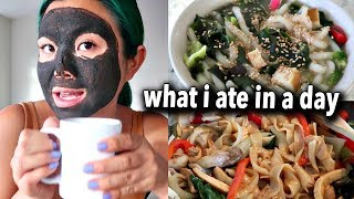 WHAT I ATE IN A DAY (EASY VEGAN RECIPES)