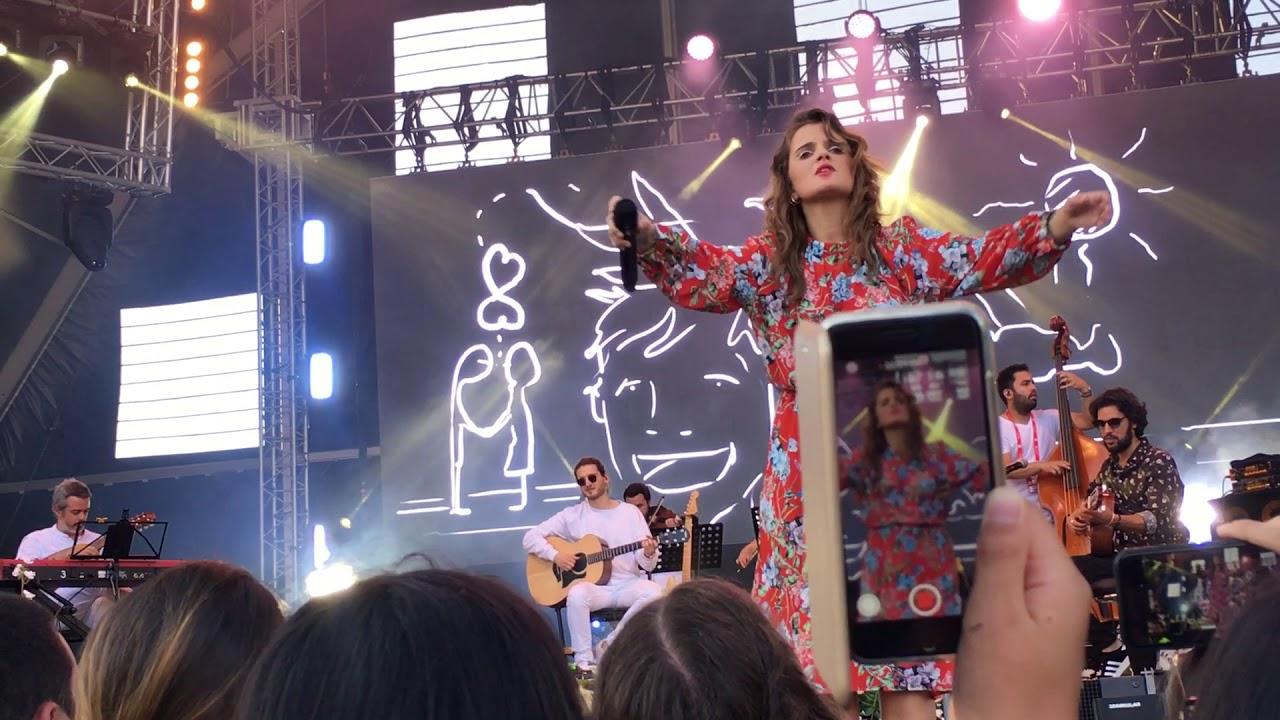 Carolina Deslandes E Diogo Clemente A Vida Toda Live Rock In Rio