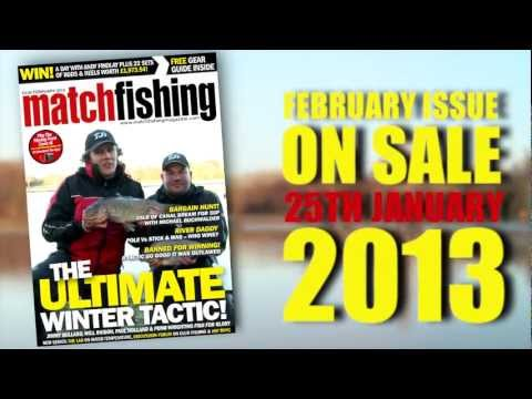 Match Fishing Magazine February 2013 feat Jimmy Bullard