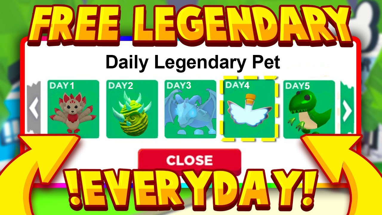 HOW TO GET FREE LEGENDARY PETS EVERYDAY!!! Roblox Adopt Me Hack For Legendary Pet (Working 2020)
