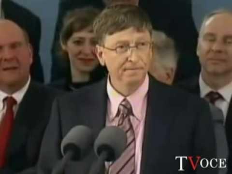 Bill Gates: l'Italia di Berlusconi e' tirchia