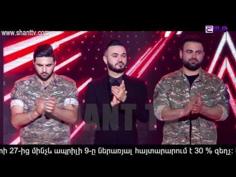 X-Factor4 Armenia-Gala Show 7-02.04.2017