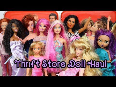 Barbie Thrift Store Doll Haul #7