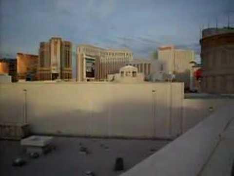 Las Vegas Strip Skyline View from Caesar's Palace; Nevada