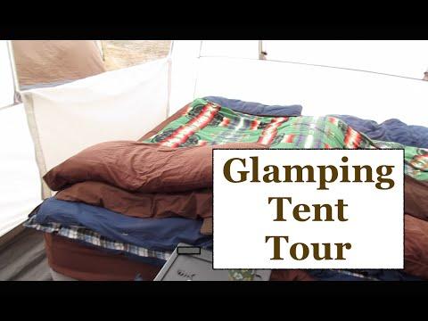 Glamping Tent Tour