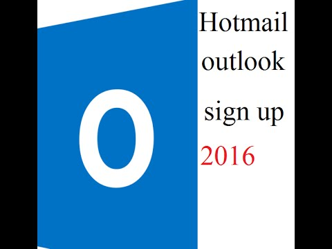 Hotmail and outlook  sign up