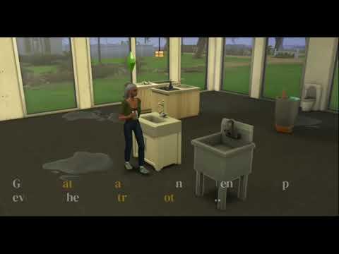 Sims 4 Paranormal update seems to cause Bonehilda water puddles