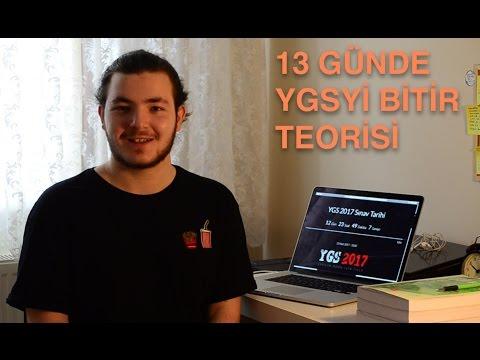 YGS'YE 13 GÜN KALA ÇALIŞMAK! 36 SAATTE...