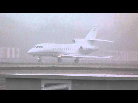 [HD] Equatorial Guinea Government Dassault Falcon 900B take off at Geneva/GVA/LSGG