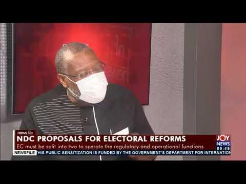 Electoral reforms: EC's response was confrontational - Alex Segbefia #Newsfile
