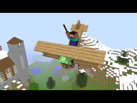 Top 3 FLYING Monster School - Minecraft Animation