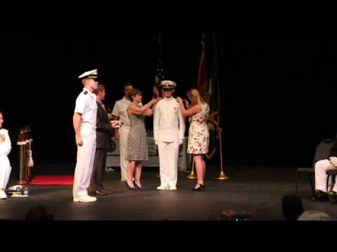 Spring 2017 Naval ROTC Commission Ceremony