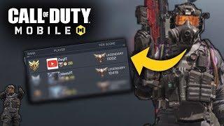 🔴#1 RANKED PLAYER COD MOBILE LIVE🔴 #1 Legendary Ranked vs Legendaries! Call Of Duty: Mobile