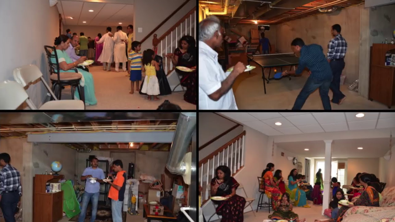 Srini amli house warming party youtube for How to make a home decorations