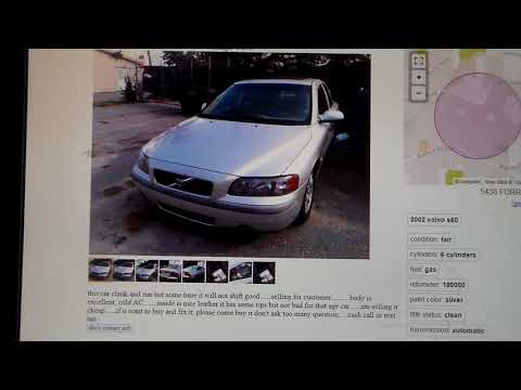 What kind of cheap VOLVO'S do you find on Craigslist?
